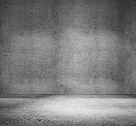 High resolution white concrete room Stock Photo - 14924102