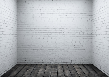 the white wall: High resolution brick concrete room Stock Photo