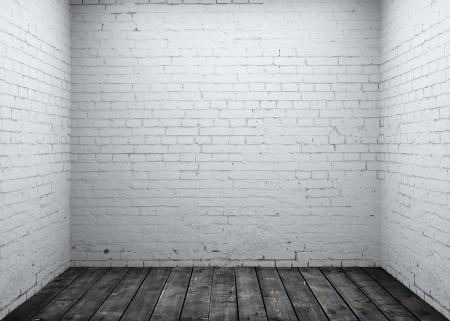 High resolution brick concrete room Stock Photo - 16032588