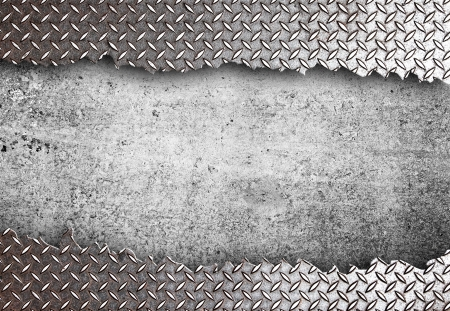 high definition  torn metal texture Stock Photo - 16293039