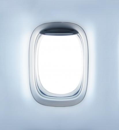 VENTANAS: aviones de alta definición vacía del ojo de buey Foto de archivo