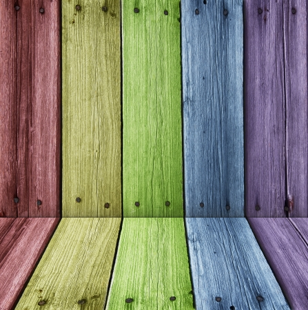 High resolution color wooden room Stock Photo - 16293038