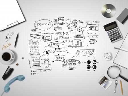grapadora: cosas buisness y estrategia empresarial esquema