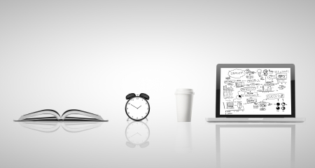 business concept  on white background photo