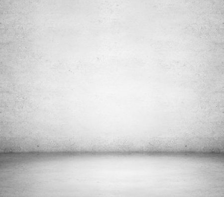 stained concrete: High resolution white concrete room Stock Photo