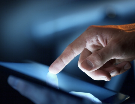 finger touch: high resolution hand touching  touch pad