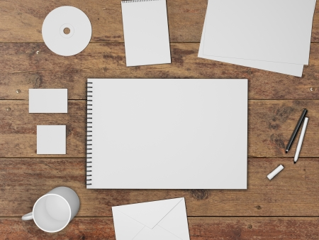 envelop: corporate identity kit and business �ard