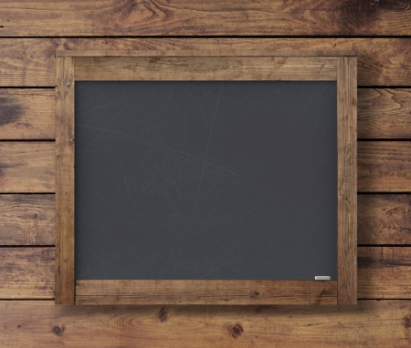 paper clips: wall wood texture with black poster