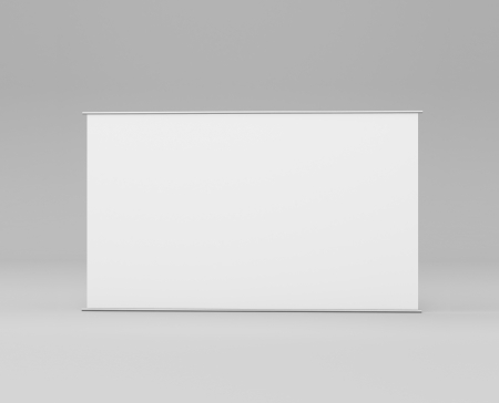 horizontal stand  in gray background photo