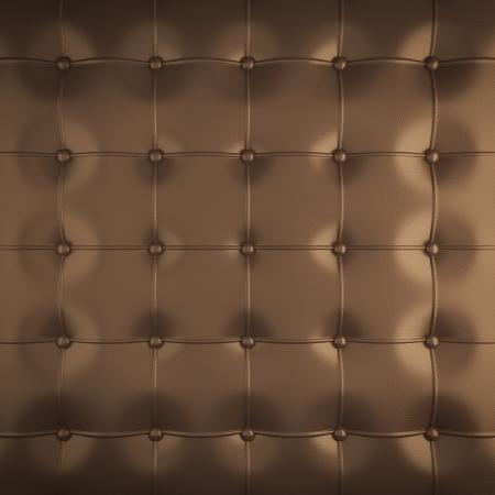 gold leather upholstery pattern , 3d illustration illustration