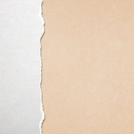 Torn paper with yellow background Stock Photo - 18039210
