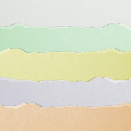 high definition color torn paper Stock Photo - 18039139