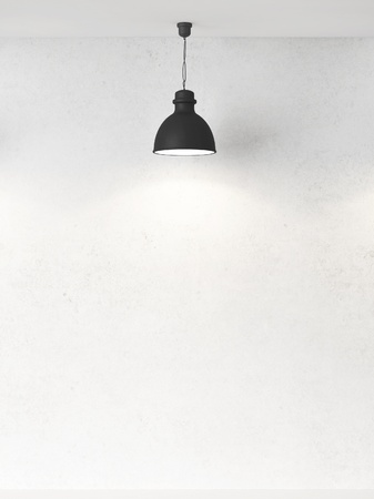 ceiling texture: white wall and ceiling lamps