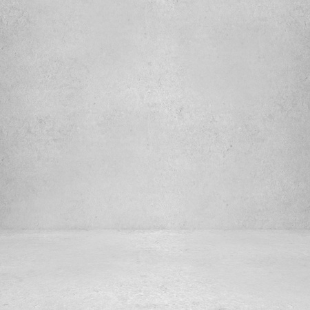 background abstracts: High resolution white concrete wall and floor