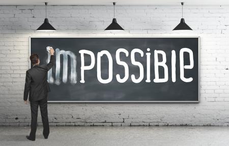 man wist het onmogelijke op blackboard