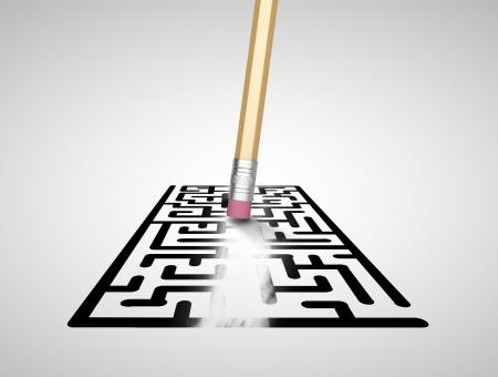 shortcut: pencil with eraser erases maze