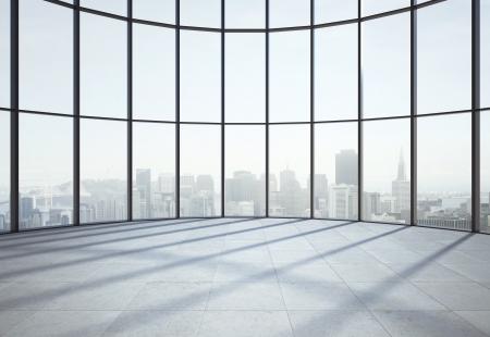 vestibulos: gran sala la luz del sol y de la ventana Foto de archivo