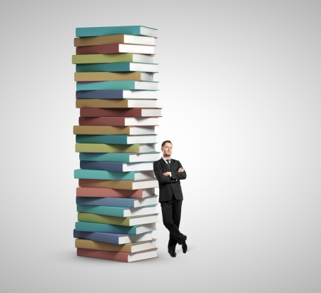 relies: successful man relies on the stack books