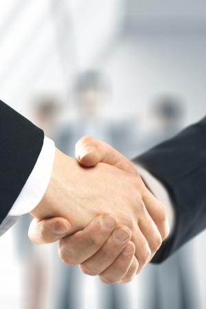 business handshake: business handshake and people background
