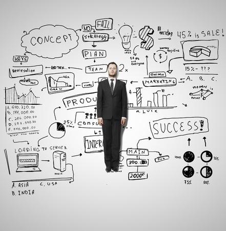 lluvia de ideas: empresario mentiras y estrategia de negocios