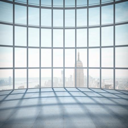big room with big window Stock Photo - 21349833