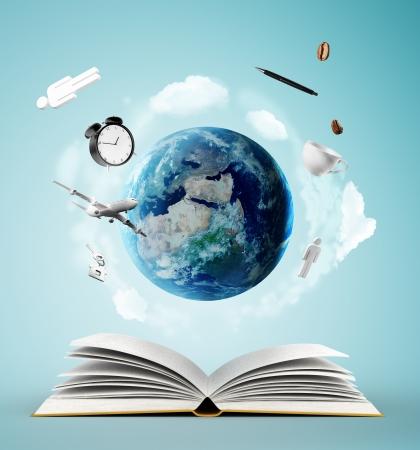 onderwijs: open boek en aarde, onderwijsconcept
