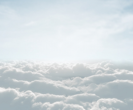 skyscape: high definition skyscape with clouds Stock Photo