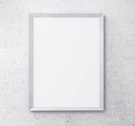 white frame on white background Stock Photo - 24798240