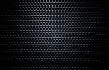 blowup: high definition black metal wall texture