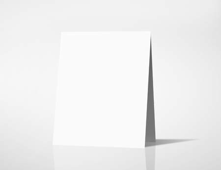blank sign: high resolution white blank card
