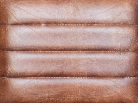 reddish: Reddish brown leather texture. Stock Photo
