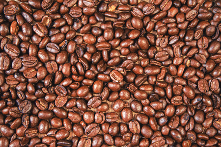 saturated: Saturated coffee bean background
