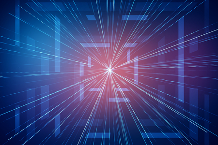 textured: Abstract glowing blue geometric background