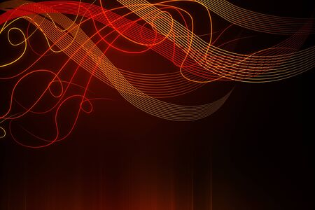 Abstract colorful digital wave backdrop. 3D Rendering