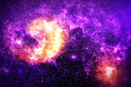 Beautiful space sky wallpaper.
