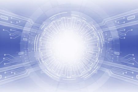 Creative light digital button screen. Future and media concept. 3D Rendering