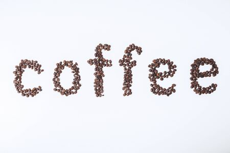 Creative coffee texture. Design. addiction, energy and lifestyle concept