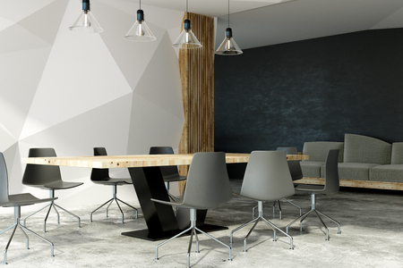modern boarding room interior with louge area 3d rendering stock photo picture and royalty free image image 99419810