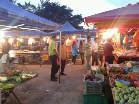 night market: Malaysia night market Pasar Malam Stock Photo