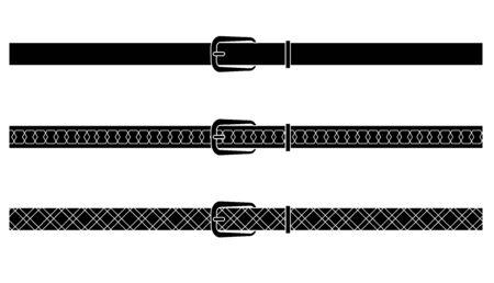 belts: Black belts