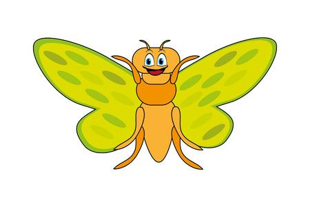 cicada bug: Cute cicada Illustration