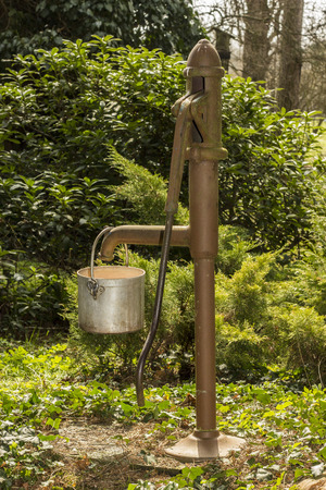 Old water pump photo