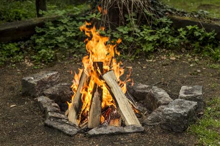 bonfire Stock Photo - 40590857