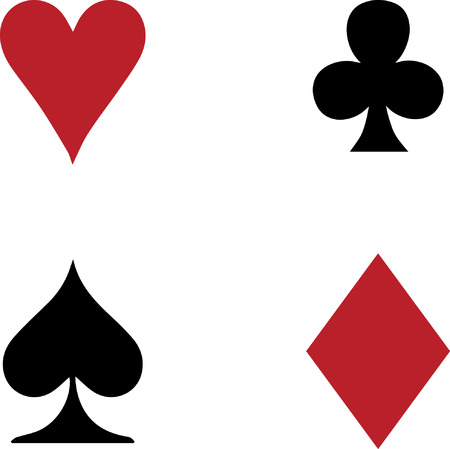 Playing cards sign