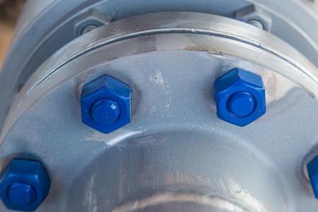flange: gas flange stud-bolt