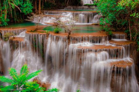 huay: Huay Mae Kamin Waterfall National Park, Kanchanaburi, Thailand