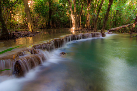 kamin: Huay Mae Kamin Waterfall National Park, Kanchanaburi Stock Photo