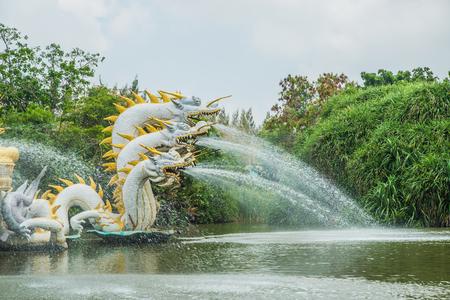 samutprakarn: Pavillion of the Enlightened, Ancient City, Samutprakarn,Thailand. Stock Photo