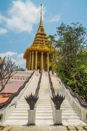 enlightened: Pavillion of the Enlightened, Ancient City, Samutprakarn,Thailand. Stock Photo