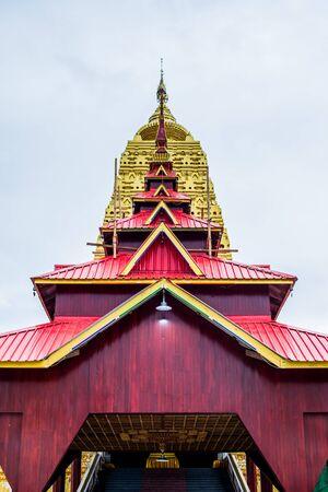 Wat Wang Wiwekaram, Sangkhlaburi, Kanchanaburi, Thailand.